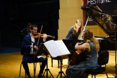 前 往----爱尔兰Fidelio Trio三重奏专场音乐会京城成功举办