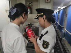南昌客运段沪杭车队确保列车中秋出行安全平稳有序